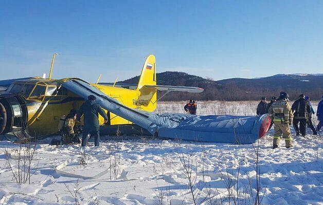 Седуммина повредени при слетување на авион во Русија