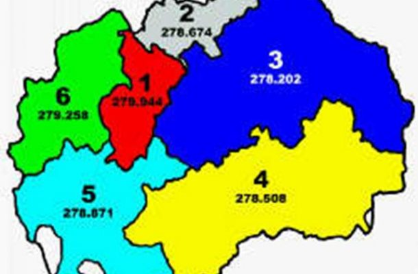 Маврово, Ростуше и Дебар преминуваат од Шестата во Петтата изборна единица
