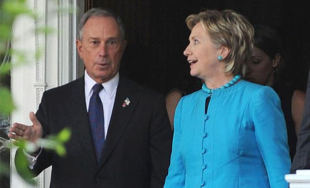 Блумберг сака Хилари Клинтон да му биде потпретседател