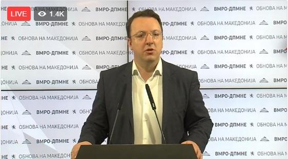 (ВИДЕО) Николоски повика: Да се пушти снимката од разговорот на Вице Заев со Кичевец!