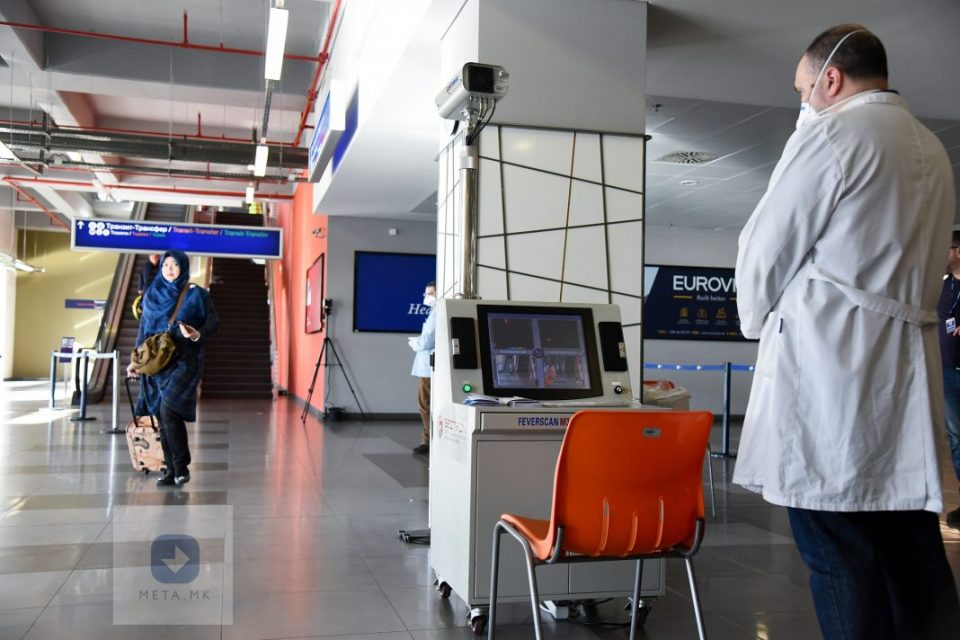 Засилени заштитни мерки поради корона вирусот на аеродромите во Скопје и во Охрид