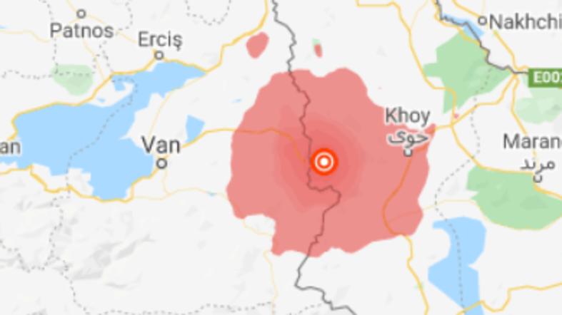 Силен земјотрес на границата помеѓу Иран и Турција