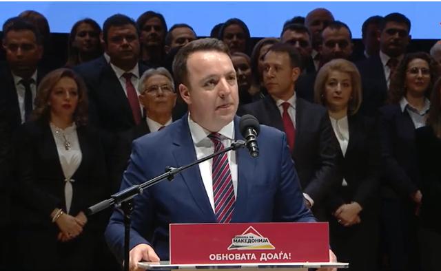 Николоски: Владата на СДСМ ги лажeше граѓаните кога ги потпишуваше договорите со Бугарија и Грција