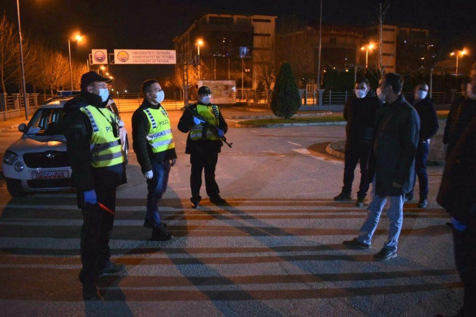 Министерот Чулев ги посети полициските службеници во Тетово