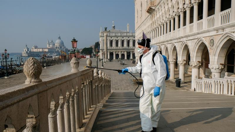 Целосен карантин во Италија за време на велигденскиот викенд