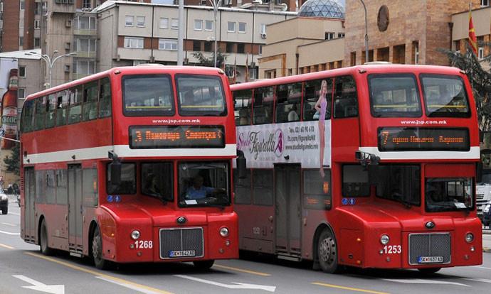 ЈСП: Нов возен ред на автобусите поради полицискиот час