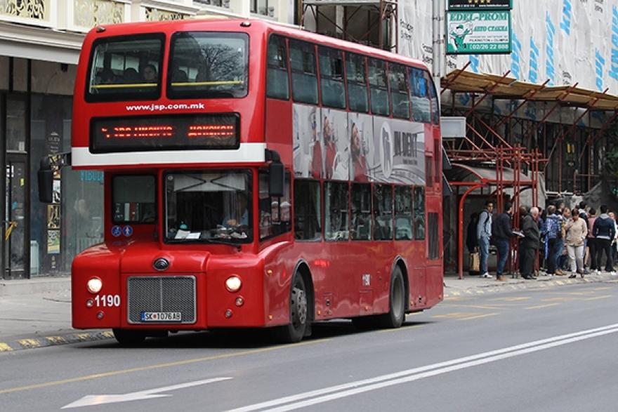 Од утре зголемен број автобуси на одредени линии во утринските часови