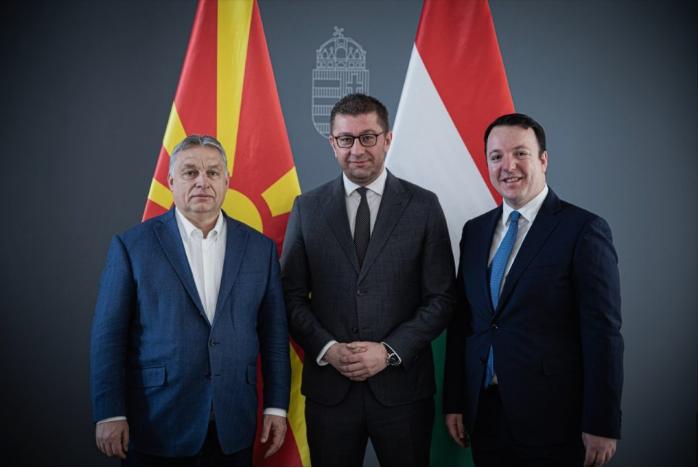 Орбан прати помош за Македонија, Мицкоски му се заблагодари