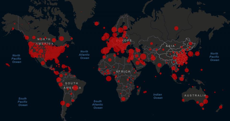 Заразени 107 милиони лица од почетокот на пандемијата