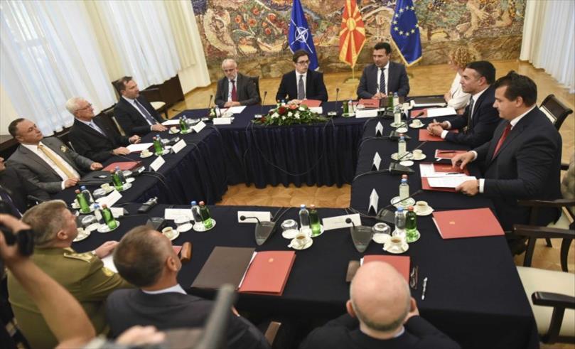 Седница на Советот за безбедност за состојбата со епидемијата на корона вирус во Македонија