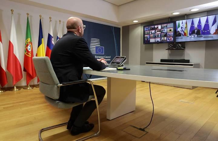 Лидерите на ЕУ преку видеоконференција ќе носат мерки против ширењето на корона вирусот