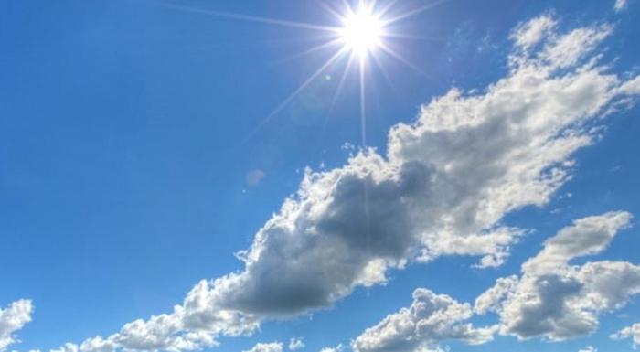 Времето денеска, сончево со услови за краткотраен дожд