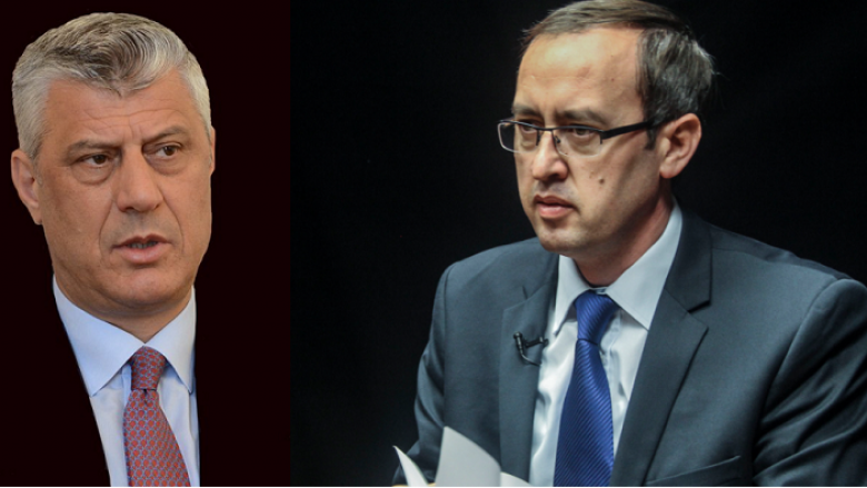 Тачи му го додели на Хоти мандатот да ја формира новата косовска Влада