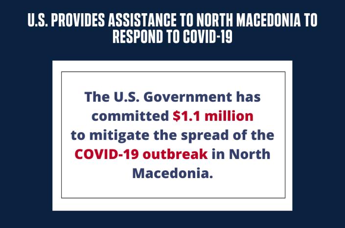 САД сепак ни е најголем пријател: Стигна милионска помош за справување со вирусот Ковид19