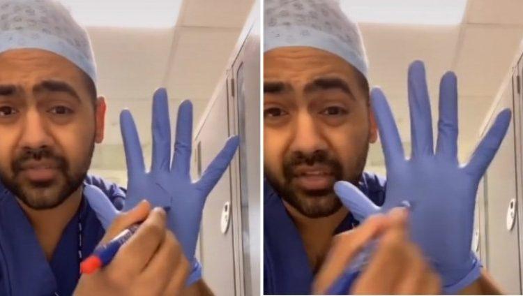(ВИДЕО) Англиски лекар објаснува зошто не треба да носите ракавици кога одите во прoдавница
