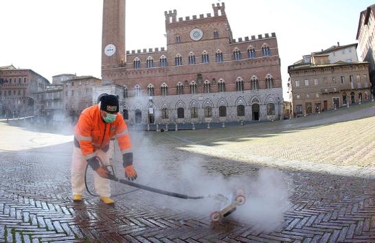 Продолжена забраната за движење во Италија