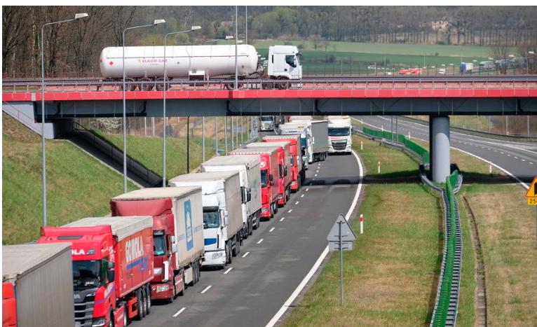 Меѓународниот сообраќај низ Србија фунционира, влезени 150.000 камиони