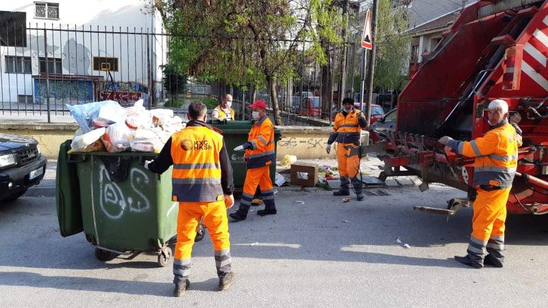 """Тешко повреден работник на """"Комунална хигена"""" во Скопје"""
