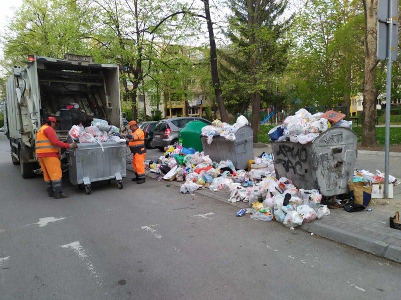 """""""Комунална хигиена"""" и за  Велигден во три смени ќе го подига отпадот"""