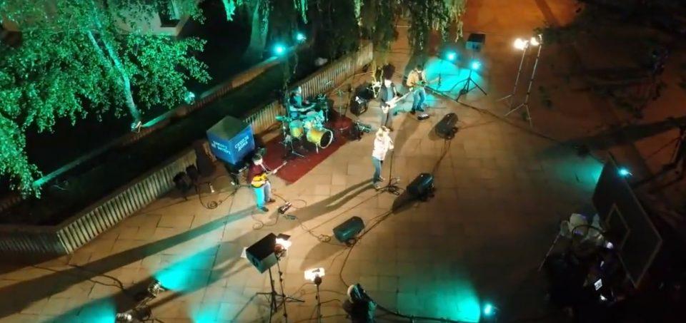 Град Скопје се  пофали дека концертите на отворено имале голема гледаност на социјалните мрежи