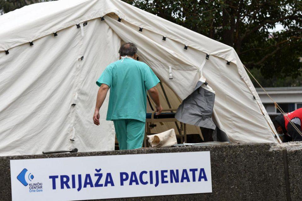Црна Гора повторно брои жртви од вирусот: Двајца починати во последните 24 часа