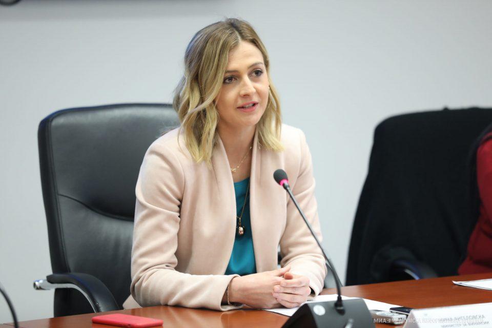 (ВО ЖИВО) Прес-конференција на министерката Нина Ангеловска