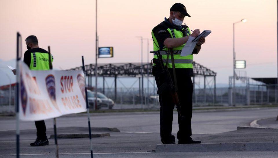 Полицискиот час изминатото деноноќие го прекршиле 79 лица, 42 приведени