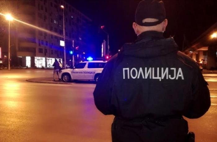 Осумнаесет приведени за непочитување на полицискиот час