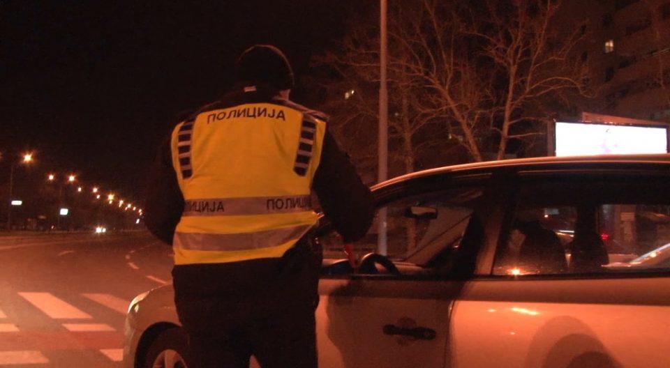 Полицискиот час не го почитувале 55 лица, 42 приведени