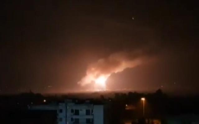 Ракетен напад на израелски авиони во близина на Палмира во Сирија