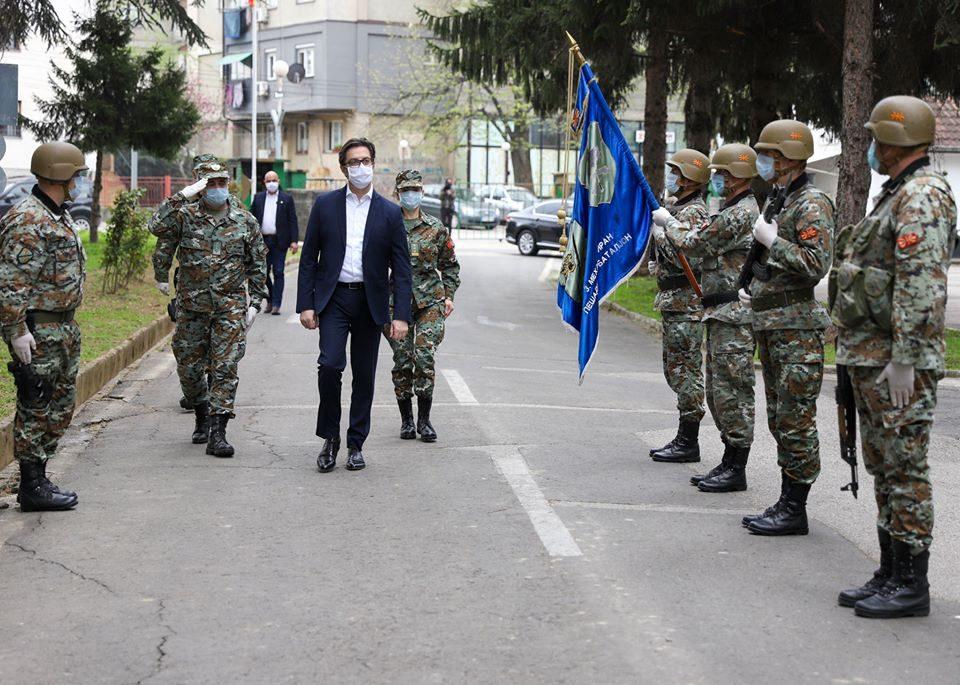 Пендаровски: Армијата ќе биде во поддршка на МВР