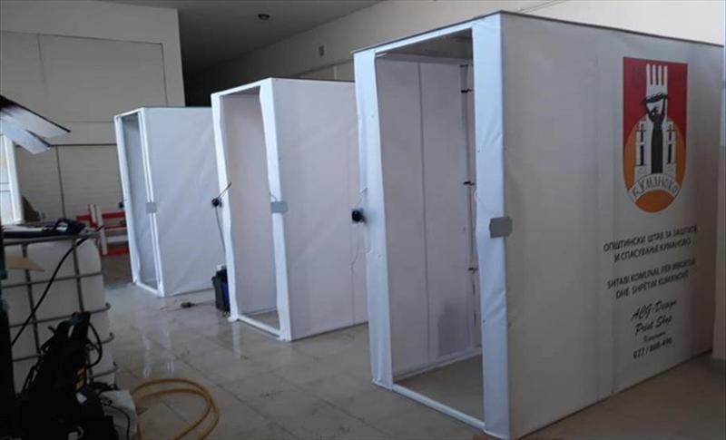 Иноватори од Кавадарци и Кочани почнаа со производство на тунели за дезинфекција
