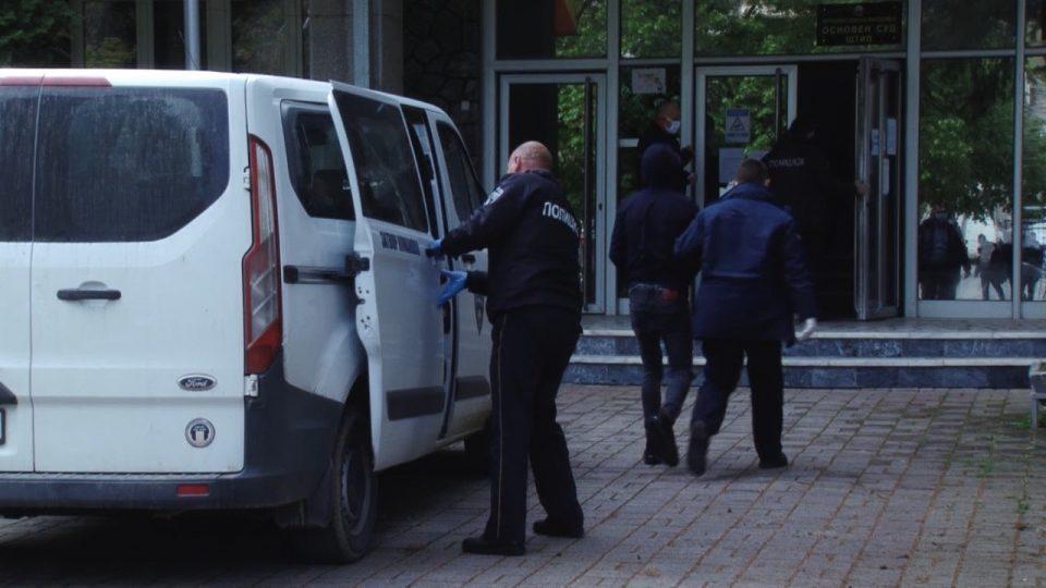 Корона вирусот го одложи судењето на двајцата насилници од Штип