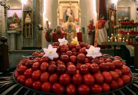 Велигденска служба по повод Христовото воскресение во Делчево