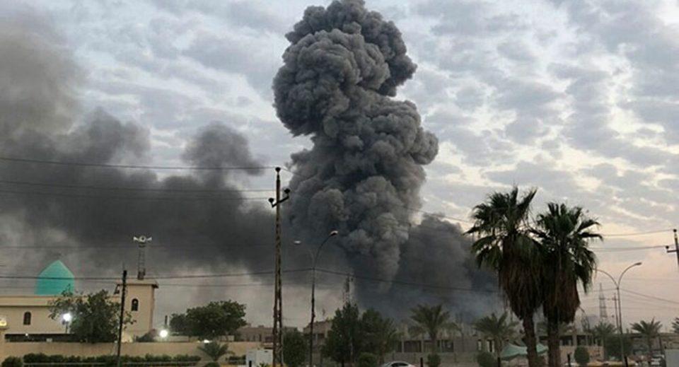 (ВИДЕО) Ракетирана Зелената зона во Багдад
