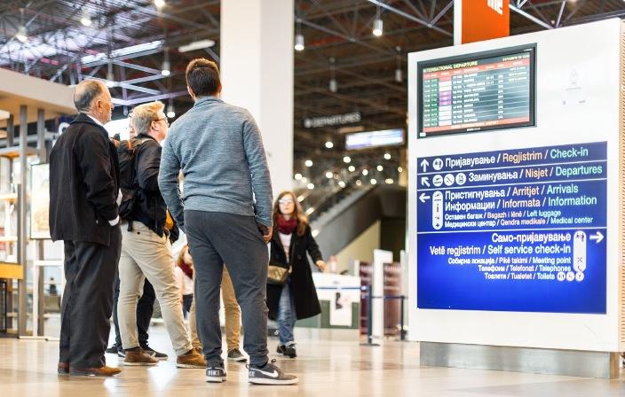 """Директорот на """"ТАВ"""": Ќе поминат години пред да ги вратиме бројките на патници од минатата година"""