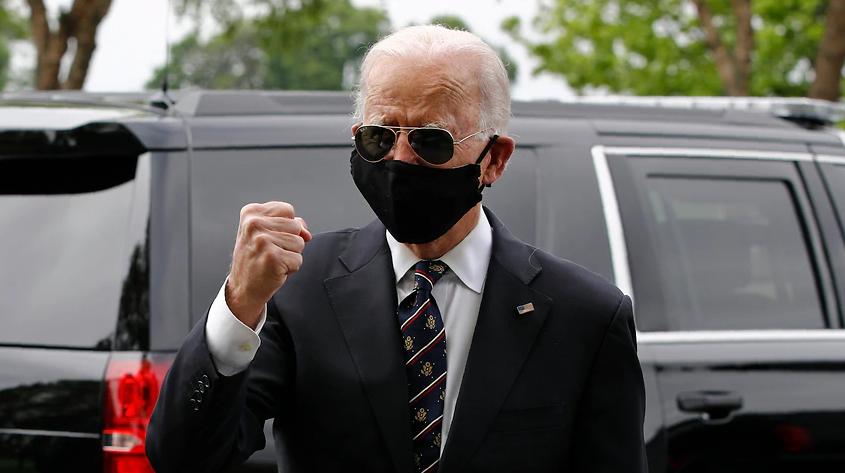 Бајден го нарече укинувањето на носење маски неандерталско однесување