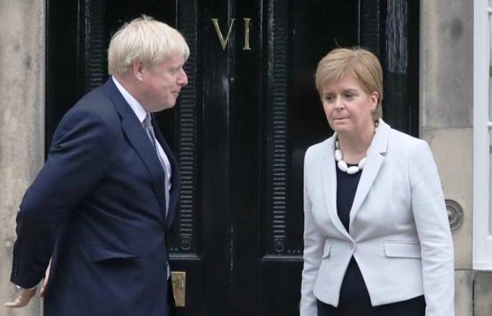 Борис Џонсон ја отфрли можноста за референдум во Шкотска во блиска иднина