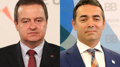 Дачиќ и Димитров разговарале за олеснување на рестриктивните мерки меѓу Србија и Македонија