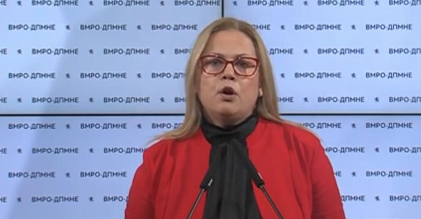 Стојаноска: ВМРО-ДПМНЕ бара разрешување на Комисијата за заразни болести