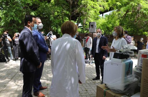 Донирани 85 неинвазивни респиратори за инфективните одделенија во болниците во земјава