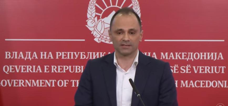 (ВО ЖИВО) Прес-конференција на министерот Венко Филипче