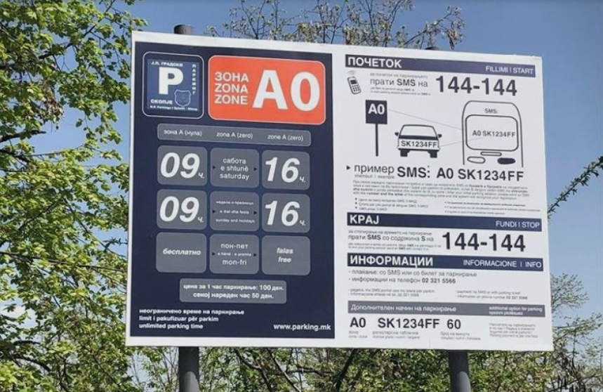 Викендов 393 возила го искористиле паркингот на Водно