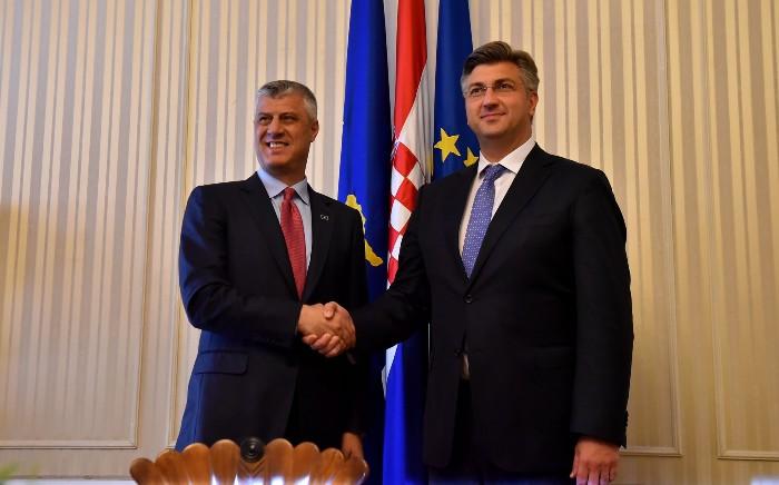 Тачи со благодарност до Пленковиќ зашто го одржувал Балканот во агендата на ЕУ