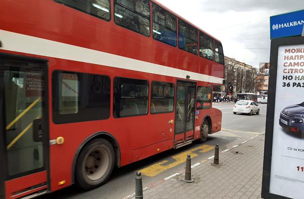 Од вечер до понеделник Скопје без јавен превоз