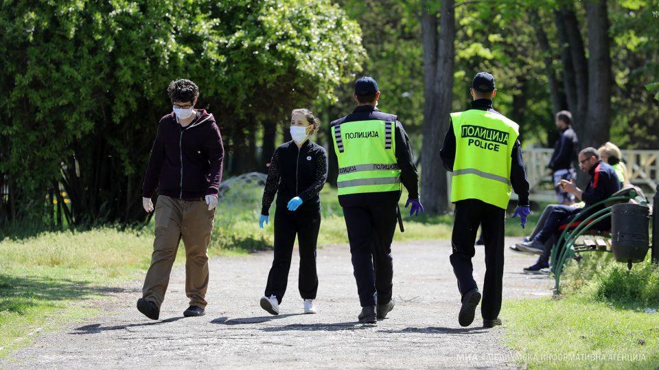 Казни за 749 граѓани поради неносење заштитна маска