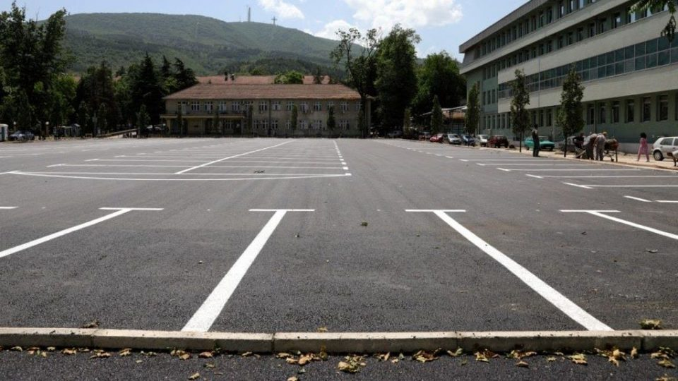 Завршен новиот паркинг на Клиничкиот центар