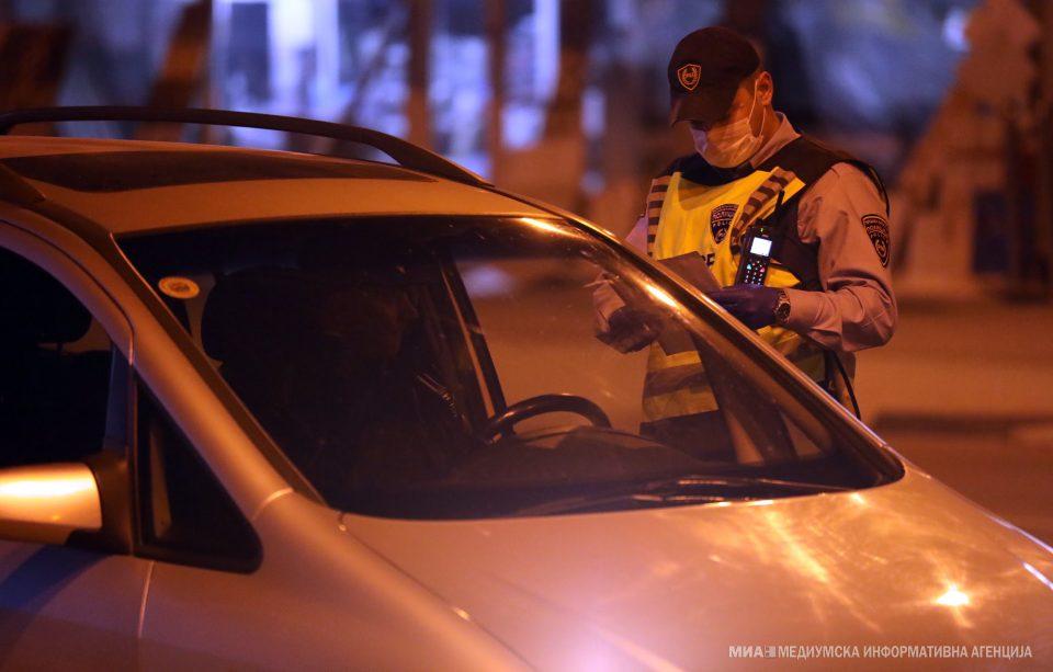 Во Тетово за двомесечниот полициски час поднесени се 168 кривични пријави против 229 сторители