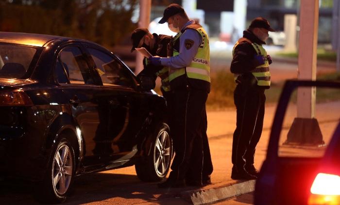 800 евра казна за четири лица кои го прекршиле полицискиот час