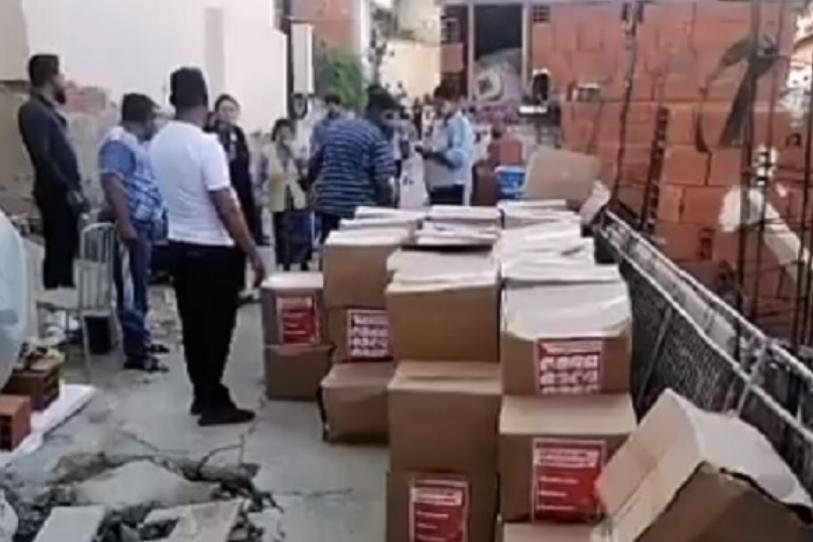 (ВИДЕО) СДСМ фатени на дело како делат изборен поткуп